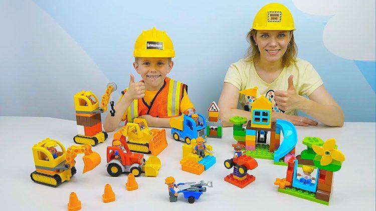 Stroiteli-LEGO-DUPLO-i-Danik-stroyat-detskuyu-ploshhadku-Razvivayushhee-video-dlya-detej