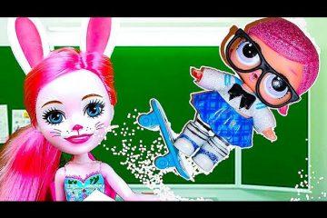 CHto-to-poshlo-ne-tak-SNOVA-v-SHKOLU-Multik-kukly-LOL-syurpriz-Animation-LOL-surprise-Video-dlya-detej