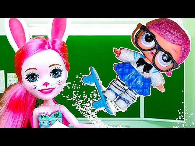 CHto-to-poshlo-ne-tak-SNOVA-v-SHKOLU-Multik-kukly-LOL-syurpriz-Animation-LOL-surprise-Video-dlya-detej