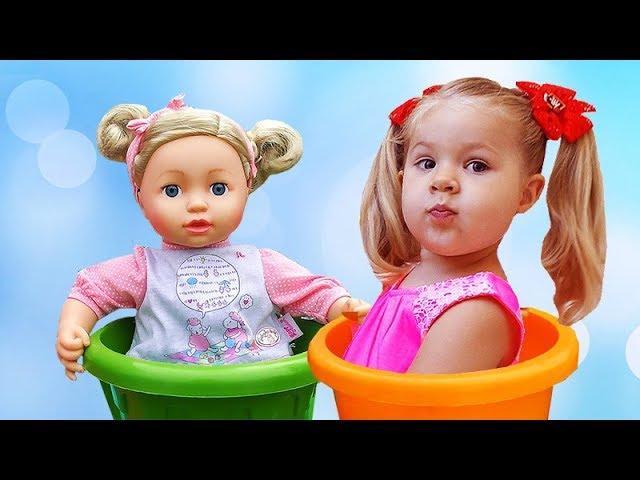 Diana-Pretend-Play-Babysitting-Cry-Baby-Dolls-Nursery-Playset-Girl-Toys