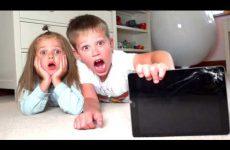 Maks-RAZBIL-PLANSHET-iPad-Katya-VSE-ISPORTILA-Kids-bought-a-new-MacBook-Pro-2018-for-children