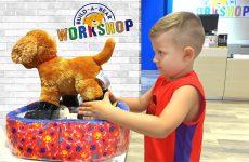 Roma-Diana-i-novye-Igrushki-SHHenok-i-Edinorog-Roma-and-Diana-make-toys-Puppy-and-the-Unicorn