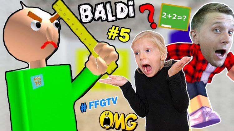 SBEZHALI-iz-SHKOLY-BALDI-Priklyucheniya-Baldi-i-ego-Druzej-v-SHKOLE-ROBLOX-ot-Papy-i-Milany-FFGTV