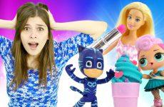 Video-s-igrushkami-LIVE-Poni-Barbi-i-Geroi-v-Maskah