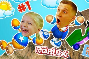 CHELOVEK-ANTISTRESS-v-ROBLOX-1-Protiv-GLUBOKIH-YAM-ili-igra-Kak-Kick-the-Buddy-Milana-i-papa-FFGTV