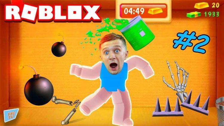 CHELOVEK-ANTISTRESS-v-ROBLOX-2-Protiv-GLUBOKIH-YAM-ili-igra-Kak-Kick-the-Buddy-Danya-i-papa-FFGTV