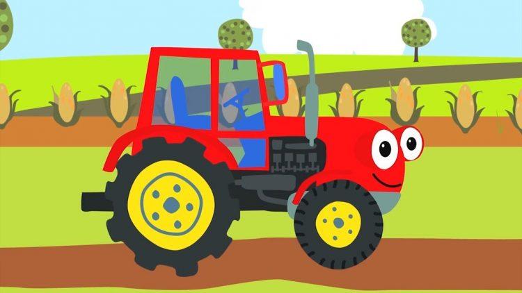 Pesenki-dlya-detej-SBORNIK-pro-mashinki-Bip-Bip-Traktor-Gruzovik-i-drugie-pesni-dlya-malyshej