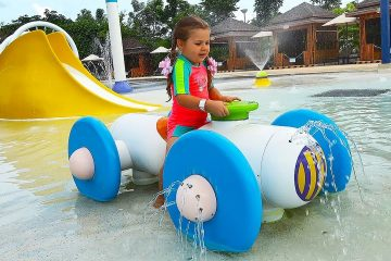 Roma-and-Diana-Rides-the-Water-Slides-at-the-Water-park