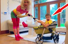 K-nam-priehala-Podruzhka-nyani-s-malenkoj-kolyaskoj-i-Kids-VS-babysitters