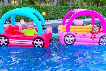 Deti-ne-podelili-domik-dlya-detej-ili-kids-build-toy-playhouse