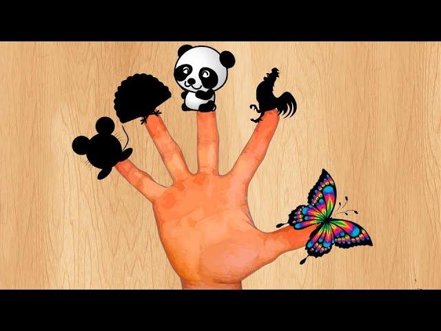 Pesenka-pro-Palchiki-Uchim-zhivotnyh-Detskie-pesenki-dlya-samyh-malenkih-detej-Finger-Family-Songs