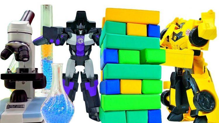 Transformery-i-igry-dlya-detej-Bamblbi-ili-Megatron-Video-sbornik