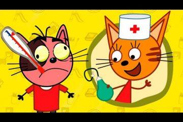 Tri-kota-2-seriya-Doktor-igra-dlya-detej-Razvivayushhie-novye-igrovye-multfilmy-dlya-samyh-malenkih