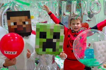 10-000-000-podpischikov-Mister-Max-i-Minecraft-Party