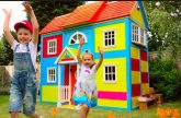 DIY-2-etazhnyj-DOM-4-komnatnyj-dlya-detej-i-RUM-TUR-ili-Pretend-Play-in-DIY-Playhouse-for-children