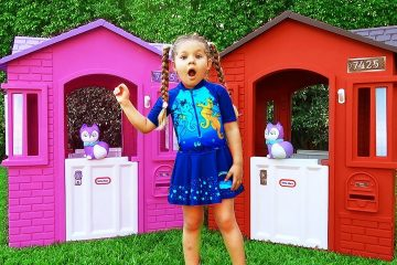 Diana-Pretend-Play-with-Toys-and-Dolls