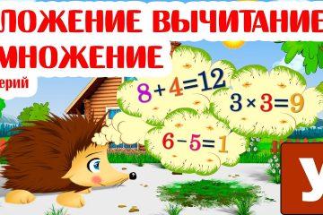 Pervaya-matematika-samym-malenkim-Uchim-slozhenie-vychitanie-i-umnozhenie-s-Ezhikom-ZHekoj