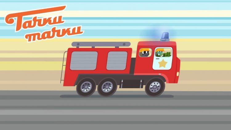 Tachki-Tachki-Garazh-Nikolya-Pozharnaya-mashina-Politsejskaya-mashina-Skoraya-pomoshh-Multiki