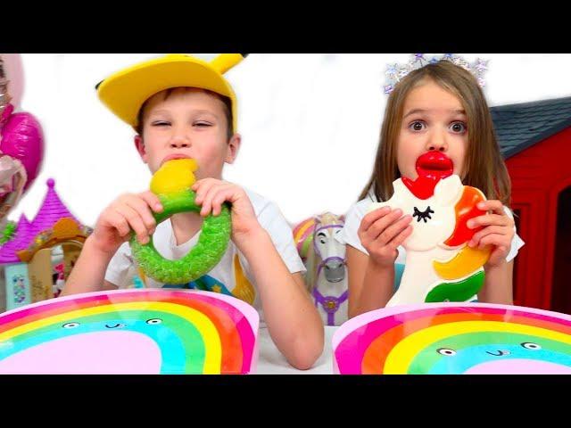 ZHelejnaya-eda-protiv-nastoyashhego-CHELLENDZH-Gummy-food-vs-Real-challenge
