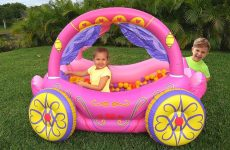 Diana-Pretend-Play-with-Princess-Carriage-Inflatable-Toy