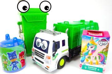 Zelenyj-kontejner-prevrashhaet-musor-v-syurprizy-i-igrushki