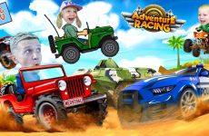 PRIKLYUCHENIYA-na-MASHINKAH-v-igre-Adventure-Racing-Kollektsiya-Mashin-CHto-my-KUPILI-Ot-FFGTV