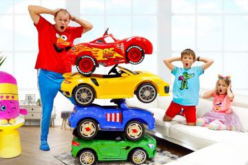 Max-and-Katy-ride-on-Magic-Toy-Cars-and-Transform-car-for-kids