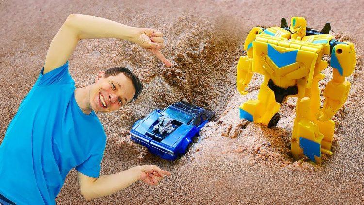 Transformery-Bambli-i-Optimus-stroyat-novuyu-bazu-iz-peska