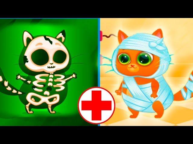 Multfilm-Kotik-Bubbu-igrovoj-multik-dlya-detej.-Kotik-v-bolnitse-Bubbu-My-Virtual-cat-Bob-Bubbu