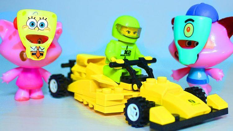 Maski-Gubka-Bob-Kvadratnye-SHtany-dlya-Soni-i-Sani-Lego-Mashinka-dlya-detej