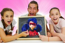 Smeshnye-video-Ledi-Bag-v-CHellendzhe-Narisuj-i-Otgadaj-Onlajn-igry-dlya-detej