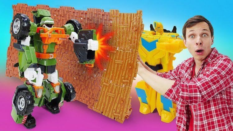 Transformery-i-Tobot-v-bitve-za-Kub-Energona-Video-s-igrushkami-dlya-malchikov