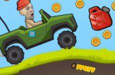 PRIKLYUCHENIYA-Krasnoj-SHAPKE-na-KOLYOSAH-Veselye-MASHINKI-v-igre-Stunt-Racing-ot-FFGTV
