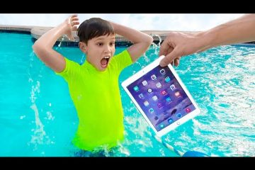 Katya-i-papa-uronili-iPhone-i-iPad-v-vodu