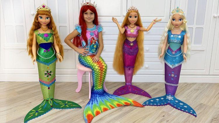 Sofiya-prevratilas-v-printsessu-Rusalochku-Sofia-turned-Princesses-into-a-real-little-mermaids