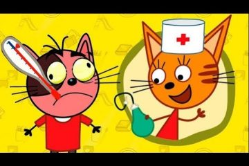 Tri-kota-2-seriya-Doktor-igra-dlya-detej-Razvivayushhij-igrovoj-multfilmy-dlya-samyh-malenkih-detej