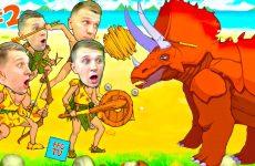 VYZHIVANIE-na-OSTROVE-2-Ohotimsya-na-ZHivotnyh-i-Monstrov-v-igre-Primitive-Brothers-ot-FFGTV