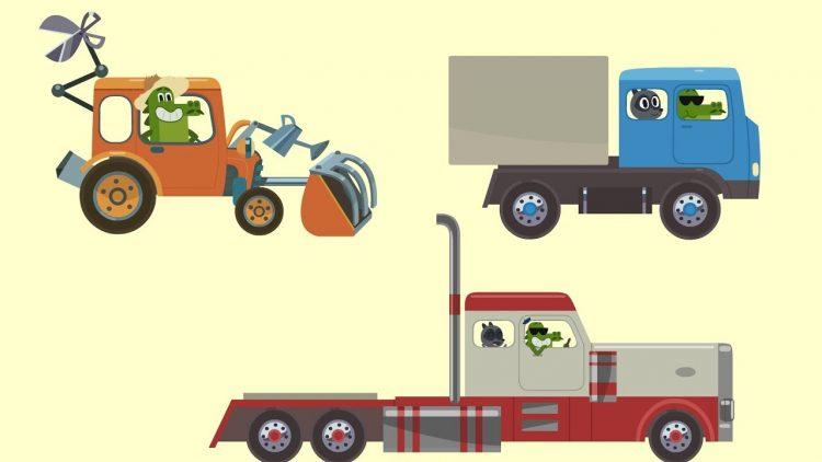 Multiki-pro-mashinki-Tachki-Tachki-Garazh-Nikolya-Fura-Gruzovik-Traktor