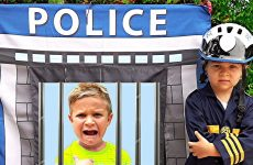 Roma-and-Diana-Pretend-Play-Police-amp-learn-good-habits-for-kids