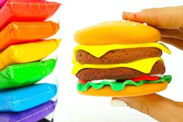 Lepim-iz-plastilina-Burger-razvivayushhee-video-dlya-detei