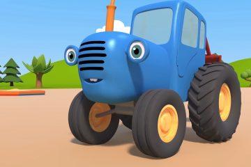 Sinij-Traktor-3D-Vozdushnye-shariki-i-Vesyolaya-pobeda-Novye-multiki-pro-mashinki