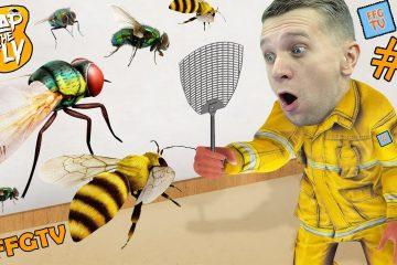 V-MOYOM-Dome-MUHI-i-PCHYOLY-Simulyator-OTLOVA-NASEKOMYH-ot-FFGTV-v-igre-Slap-The-Fly