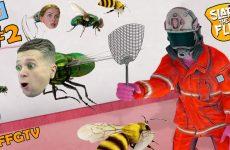 PREVRATILSYA-v-MUHU-i-PCHELU-Simulyator-OTLOVA-NASEKOMYH-ot-FFGTV-2-v-igre-Slap-The-Fly